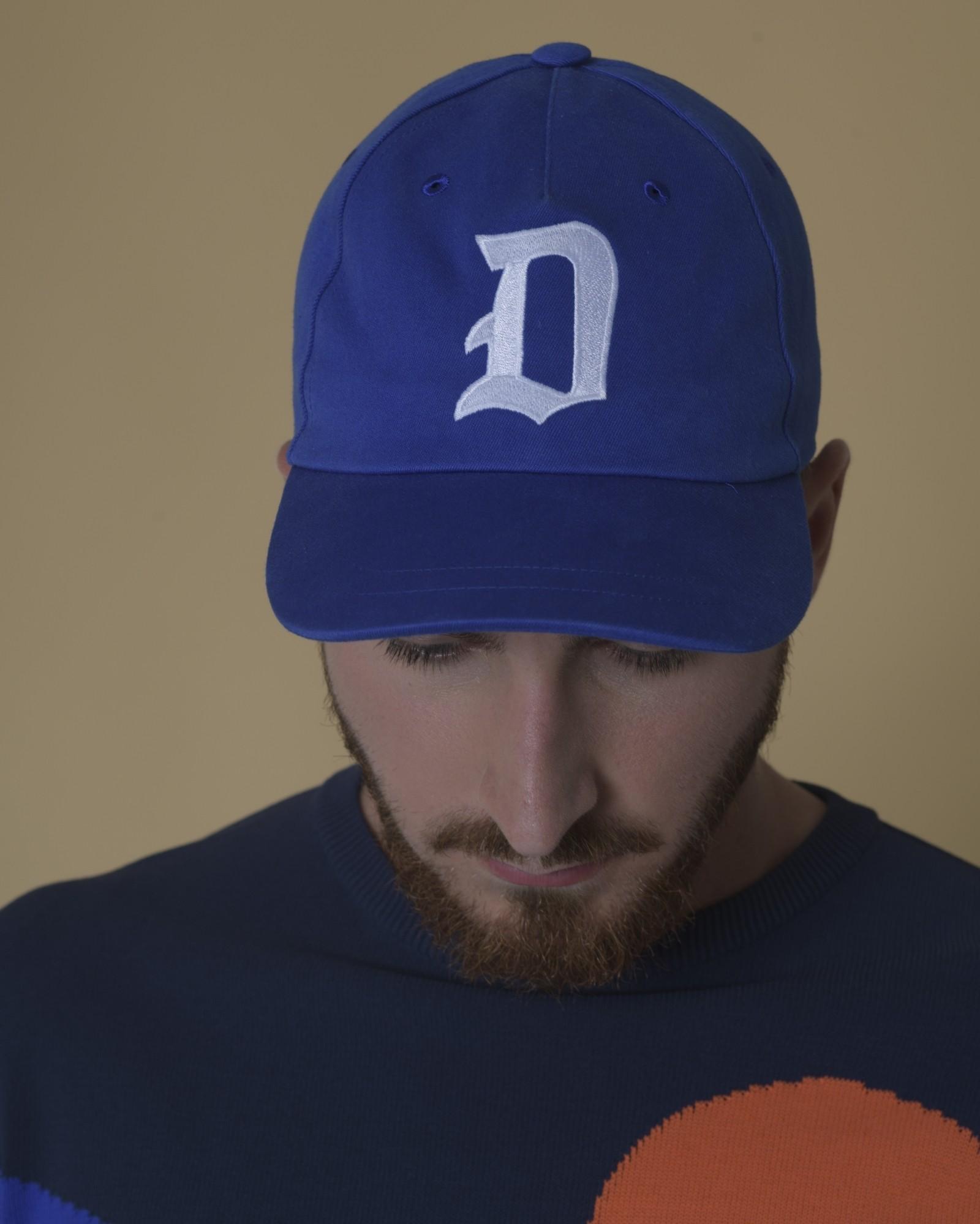 Casquette en toile à appliquer logo Dondup