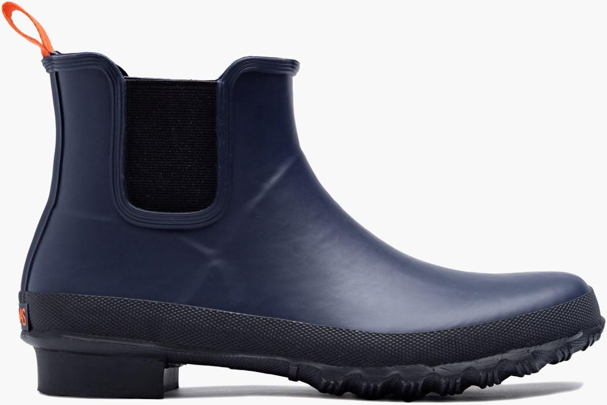 Bottines de pluie bleu Swims