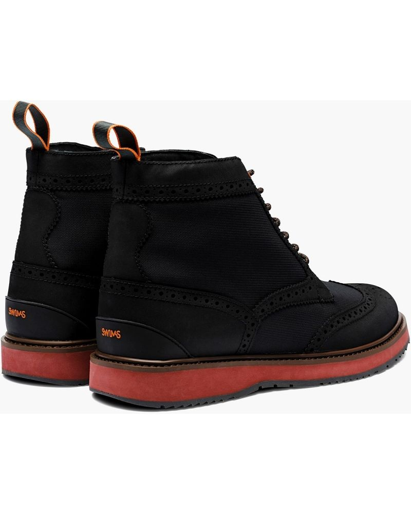 Boots noires Swims