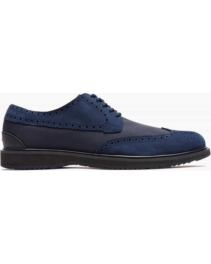 Derby nubuck bleu Swims
