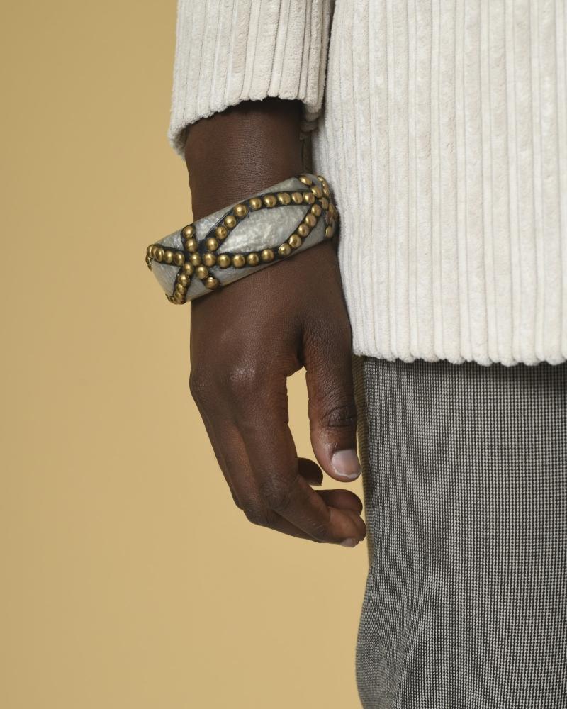 Bracelet à empiècement métallique La Piscine