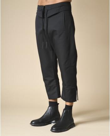 Pantalon sarouel noir Lost & Found