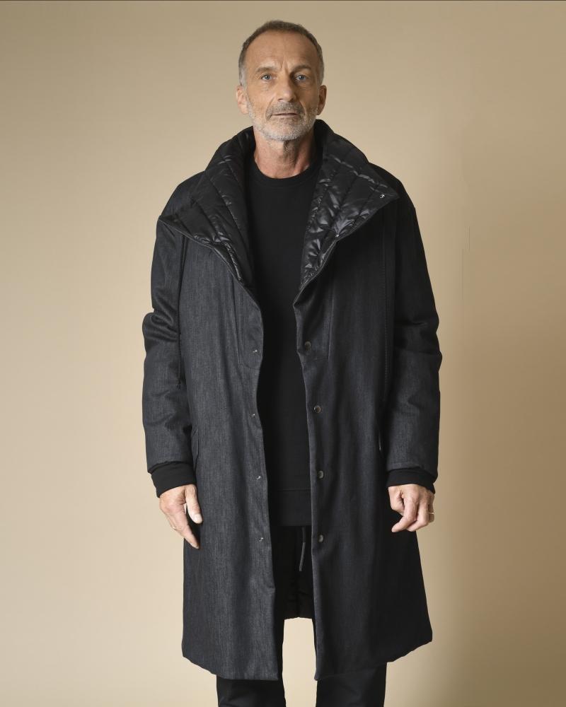 Manteau en jean réversible...