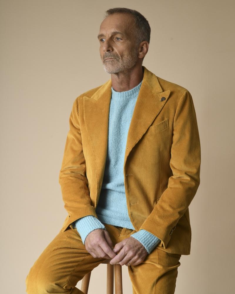 Costume en velours côtelé Gabriele Pasini