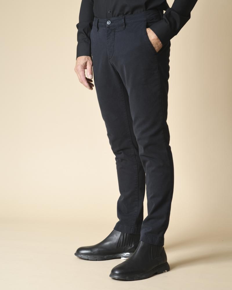 Pantalon en sergé de coton...