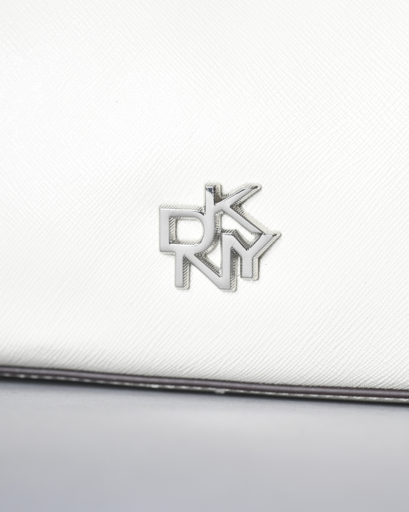 Sac à main mini en cuir texturé DKNY