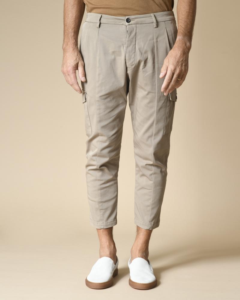 Pantalon cargo en coton...