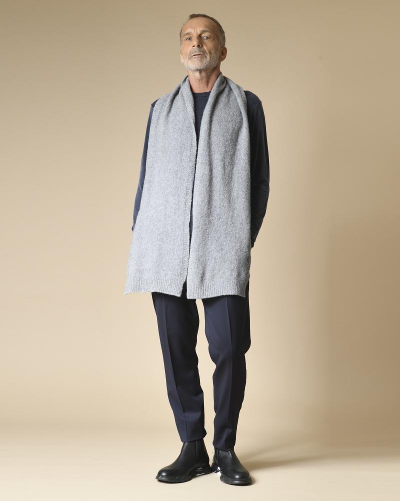 Echarpe en laine et cachemire Daniele Fiesoli
