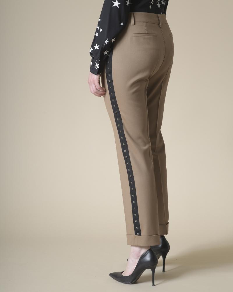 Pantalon en laine à clous P.A.R.O.S.H