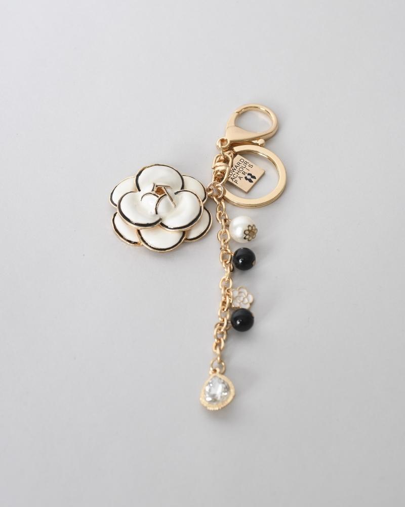 Porte-clés camélia Edward...
