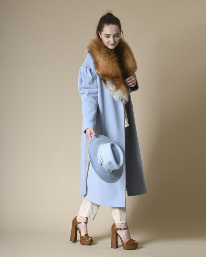 Chapeau en laine à ornement Maison Michel
