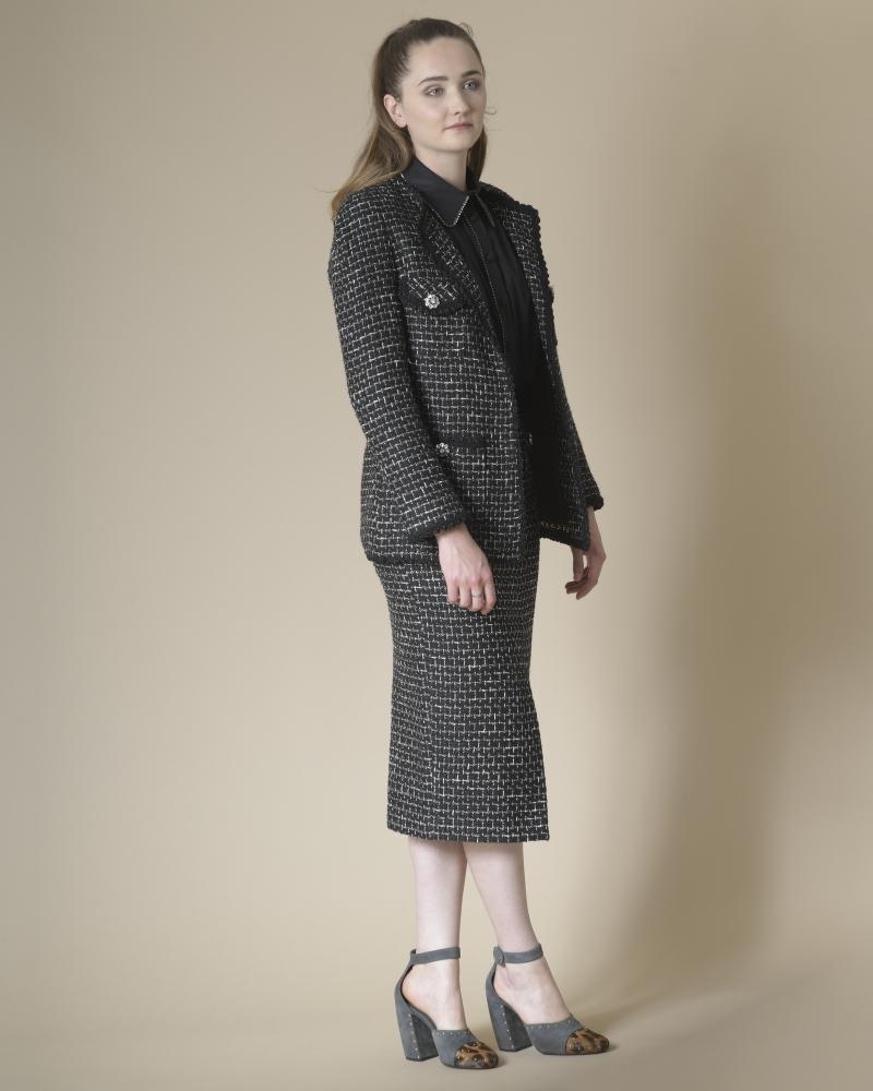 Veste en tweed Edward Achour