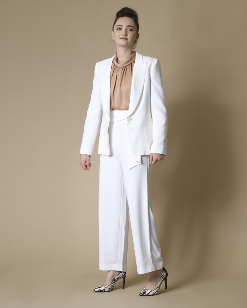 Blazer blanc Space Simona Corsellini