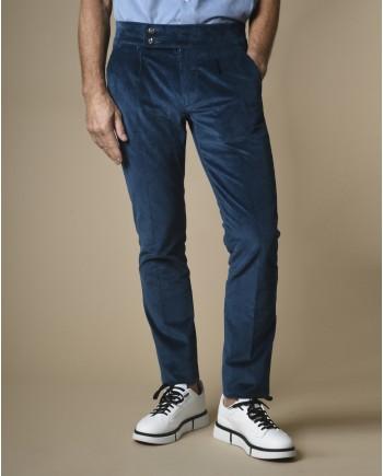Pantalon en velours côtelé Fugàto