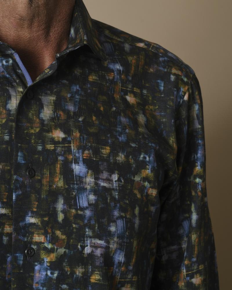 Chemise à imprimé coups de pinceau Jackett & Sons