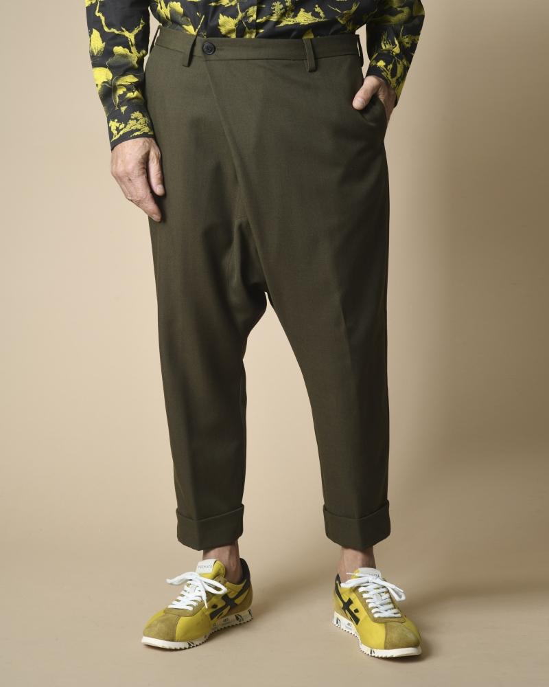 Pantalon sarouel en laine...