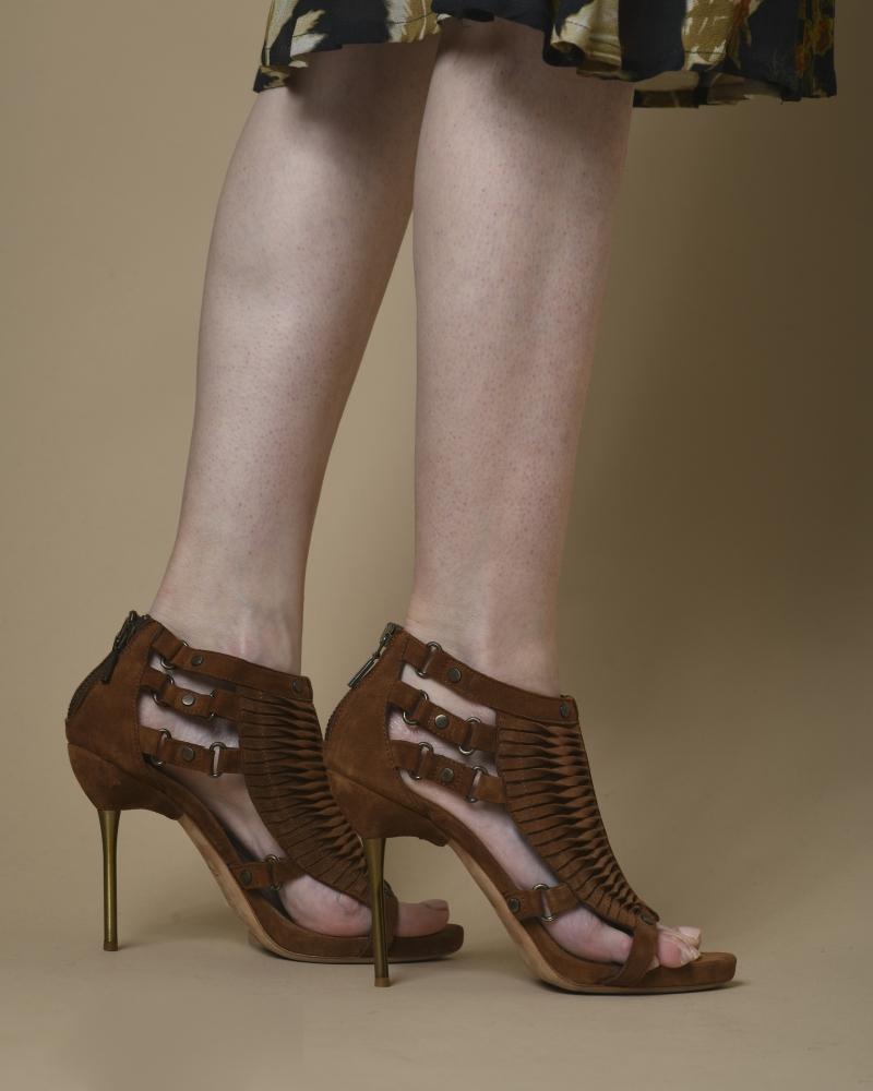Sandales en daim Plein Sud